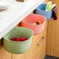 kunststoff schrank tür hängen abfalleimer bin müll korb küche werkzeug regal badezimmer organizer küche lagerung regale