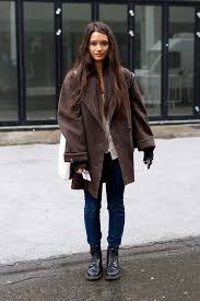 Discover This Look Wearing Big Coats Dr Martens Boots