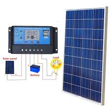 100 Vans Homes ECO 100WWatt Solar Panel Charge Controller 12V For RV Boat