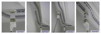 Bendable Curtain Track Nz by Motorized Curtain Track Home Automation Automatic Tracks