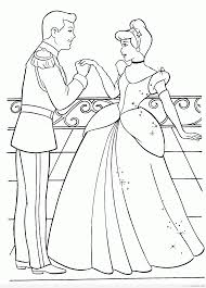 Timykids Cinderella Coloring Pages Pdf