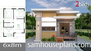 100 Housedesign House Design Plans 6x8 With 2 Bedrooms Sam House Plans