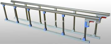 Stainless Steel Hospital Bed Side Rails Hospital Bed Folding Guard
