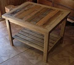 some useful ideas on making reclaimed diy pallet end tables and