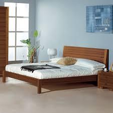 Shop Beverly Hills Furniture Alpha Teak Queen Platform Bed at