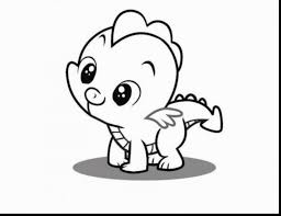 Unbelievable Cute My Little Pony Coloring Pages With Baby Animal And
