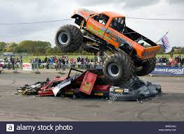 Monster Truck Stock Photos & Monster Truck Stock Images - Alamy Monster Truck Show Sotimes Involves The Crushing Smaller Monster Jam Orange County Tickets Na At Angel Stadium Of Anaheim Traxxas 110 Bigfoot Classic 2wd Rc Truck Brushed Rtr Reviews In Atlanta Ga Goldstar Show Dc Washington Crushstation Vs Bounty Hunter Jam 2017 Pittsburgh Youtube Tickets Go On Sale September 27th Kvia Intros Verizon Center 2015 Craniac Tq 4a Dc Charger Rcm