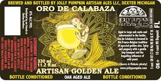 Jolly Pumpkin Dexter by Jolly Pumpkin Oro De Calabaza Beer Street Journal