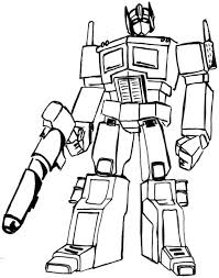 Printable Transformer Coloring Pages Me Sheets Transformers Bumblebee Free Superhero