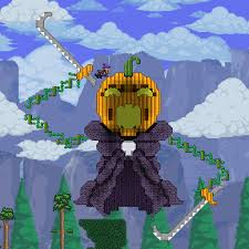 Terraria Halloween Event Arena by Oddgirl U0027s Builds Terraria Community Forums