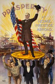 Metal Money Fetishism A Political Poster Shows Gold Coin As The Basis Of Prosperity Ca 1896 Anthropologists