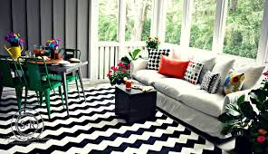 Screened In Porch Decorating Ideas by Serendipity Refined Blog Bright And Graphic Porch Decorating