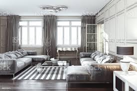 silber luxus wohnzimmer interieur stockfoto und mehr bilder architektur