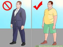 Image Titled Dress Well As An Overweight Man Step 4