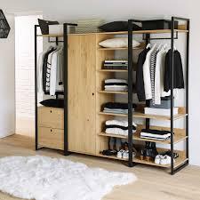 HIBA Slim Wardrobe Unit Shelves In 2019 Apartment
