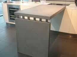 maintisch beton küche theke arbeitsplatte sanne living