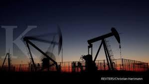 kontak perkasa futures harga minyak mentah dunia turun