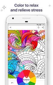 Coloring Book For Me Mandala Screenshot 1