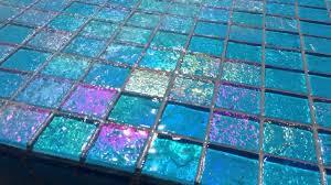 Glow In The Dark Mosaic Pool Tiles by Lightstreams Little Tile Inc Youtube