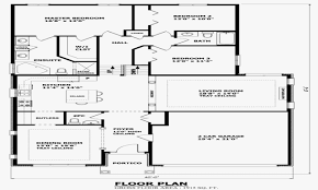 100 Floor Plans For Split Level Homes Front To Back House Elegant