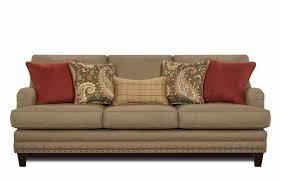Bernhardt Foster Leather Sofa by Sofa Barrow Fine Furniture