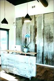 Rustic Home Office Furniture Industrial Pine Accessories Living