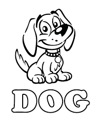Dog Coloring Pages For Preschoolers Printable Of Dogs Cats And Colouring Sheets Cat