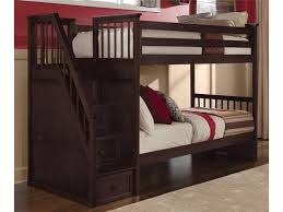 twin over full bunk bed with stairs bunks and beds stair bunk