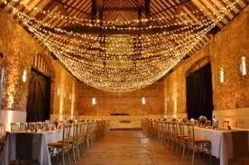 Barn Wedding Ceremony Ideas Decor Vintage Lightning