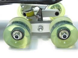 4pcs Matte Black CNC Tandem Axle Wheel Kit For Skateboard Trucks ...