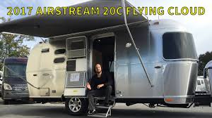 100 Airstream Flying Cloud 19 For Sale Walk Through 2017 20C Bambi Small Light Weight Travel Trailer