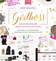 Girlboss Logo Creation Kit