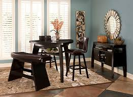 raymour and flanigan kitchen sets bar height dining set