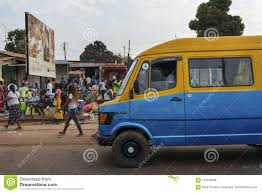 100 Mini Truck Scene Street In The City Of Bissau With A Bus Toca Toca And
