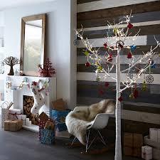 Twig Christmas Tree With Metallic Ornament Source