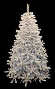 9 Pre Lit White Cedar Pine Artificial Christmas Tree