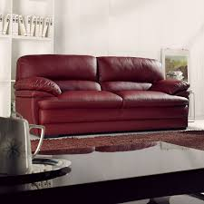 Decoro Leather Sectional Sofa by Italian Leather Sofa With Wood Trim Italian Leather Sofa With