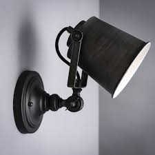 nordic vintage industrial wall l classic black wall sconce