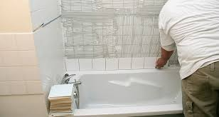 poseur de salle de bain pose de carrelage faïence la baule guérande nazaire