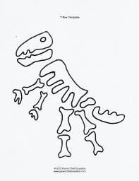 Printable Dinosaur Pumpkin Carving Patterns by Skeleton Bones Template Contegri Com