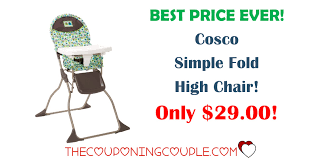 Cosco Flat Fold High Chair by Cosco Fold Up High Chair Home Chair Decoration