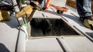 tile roof ventilation ridge vent end cap gasket installing on