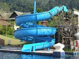 Hotel Swimming Pool Water Slide Park
