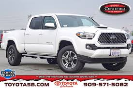 100 Long Bed Truck Used Certified OneOwner 2018 Toyota Tacoma 4X2 DBL CAB LONG BED In