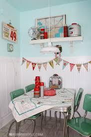 Retro Kitchen Decor Robb Restyle