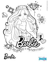 Coloriage Barbie Sur Hugolescargotcom