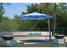 Large Cantilever Patio Umbrella by California Umbrella Cali Series 11 Foot Octagon Cantilever