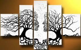 Tree Wall Decor Ideas by 15 Nice Black And White Wall Decor Ideas Homeideasblog Com