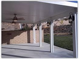 Duralum Sunrooms Enclosed Patios Lattice Insulated Covers