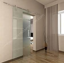 BERLIN - Sliding GLASS Door HARDWARE ONLY (LONGER 98